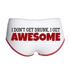 I Get Awesome Women's Boy Brief