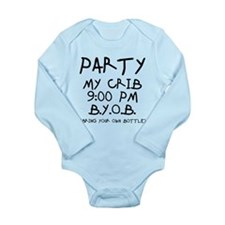 Party At My Crib Onesie Romper Suit