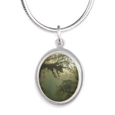 Irian Jaya Silver Oval Necklace