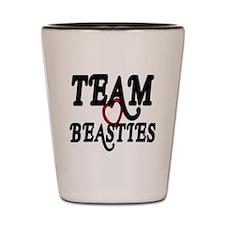Team Beasties Shot Glass
