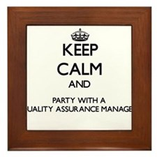 Keep Calm and Party With a Quality Assurance Manag
