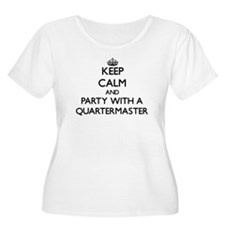 Keep Calm and Party With a Quartermaster Plus Size