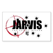 Jarvis: The Secret Weapon Decal