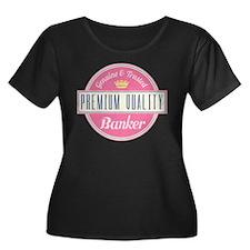 Banker Pink Vintage T