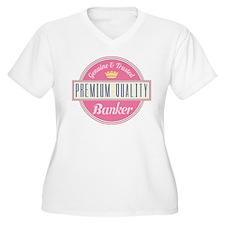 Banker Pink Vintage T-Shirt
