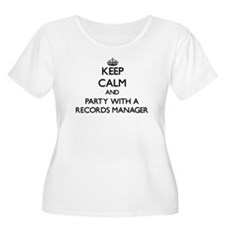 Keep Calm and Party With a Records Manager Plus Si