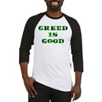 Greed Is Great Baseball Jersey