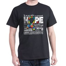 Autism Words T-Shirt