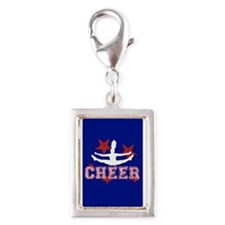 cheer blue red Charms
