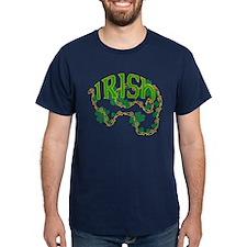 """""""Irish"""" with Clovers T-Shirt"""