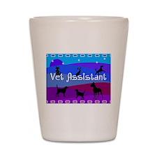Vet Assistant 1 Shot Glass