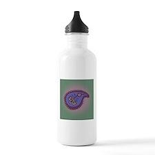 Textured Paisley Water Bottle