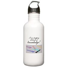 dropping knowledge Water Bottle