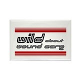 Wild About Wound Care - Rectangle Magnet