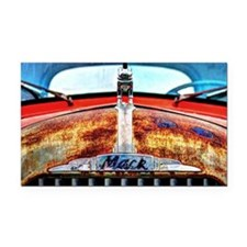 Mack Truck Rectangle Car Magnet