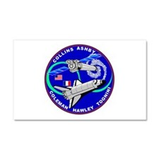 STS-93 Columbia Car Magnet 20 x 12