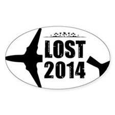 LOST 2014 Official Logo #1 Decal