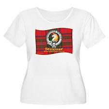 Stewart of Appin Clan Plus Size T-Shirt