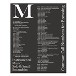M: Solo And Small Ensembles Poster