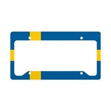 Swedish Flag License Plate Holder
