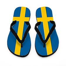 Swedish Flag Flip Flops
