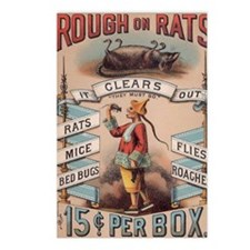 Vintage Rough on Rats Poi Postcards (Package of 8)