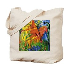Franz Marc - Animals in a Landscape Tote Bag