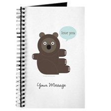 Personalized Bear Hug - Journal