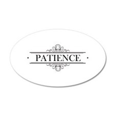 Patience In Calligraphy Wall Decal
