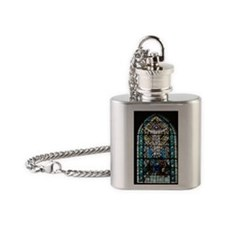 Rosslyn Chapel Flask Necklace