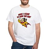 70s tv Mens White T-shirts