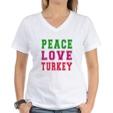 Peace Love Turkey Shirt