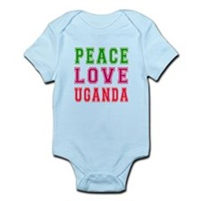 Peace Love Uganda Onesie
