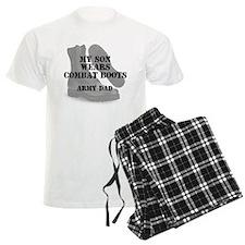 Army Son Son wears CB Pajamas