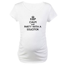Keep Calm and Party With a Solicitor Shirt