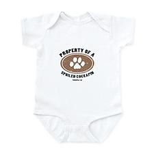 Cockapin   dog Infant Bodysuit
