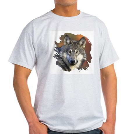 Gray Wolf Ash Grey T-Shirt