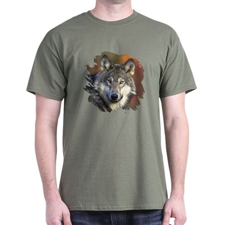 Gray Wolf Dark T-Shirt