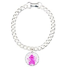 Pink Ribbon Vintage Bracelet