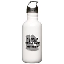 Army Sister wears CB Water Bottle