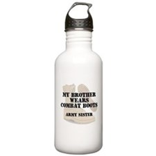 Army Sister Brother wears DCB Water Bottle