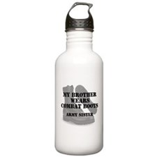 Army Sister Brother wears CB Water Bottle