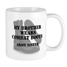 Army Sister Brother wears CB Mugs
