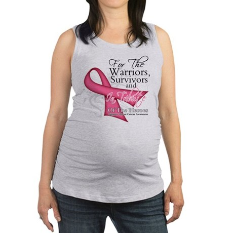 Tribute Breast Cancer Maternity Tank Top