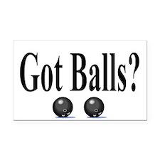 Got Balls? (Bowling) Rectangle Car Magnet