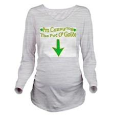 Pot O' Gold Long Sleeve Maternity T-Shirt