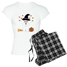 Bichon Frise Witch Pajamas