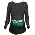 Class of 2028 Long Sleeve Maternity T-Shirt