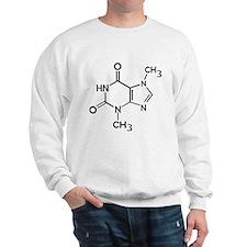 Chocolate theobromine organic compound Sweatshirt