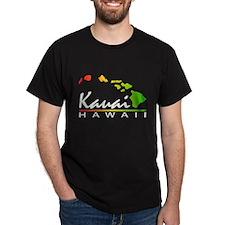 Kauai Hawaii (Distressed Design) T-Shirt